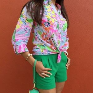 Lilly Pulitzer x Target Nosie Posey Button Down